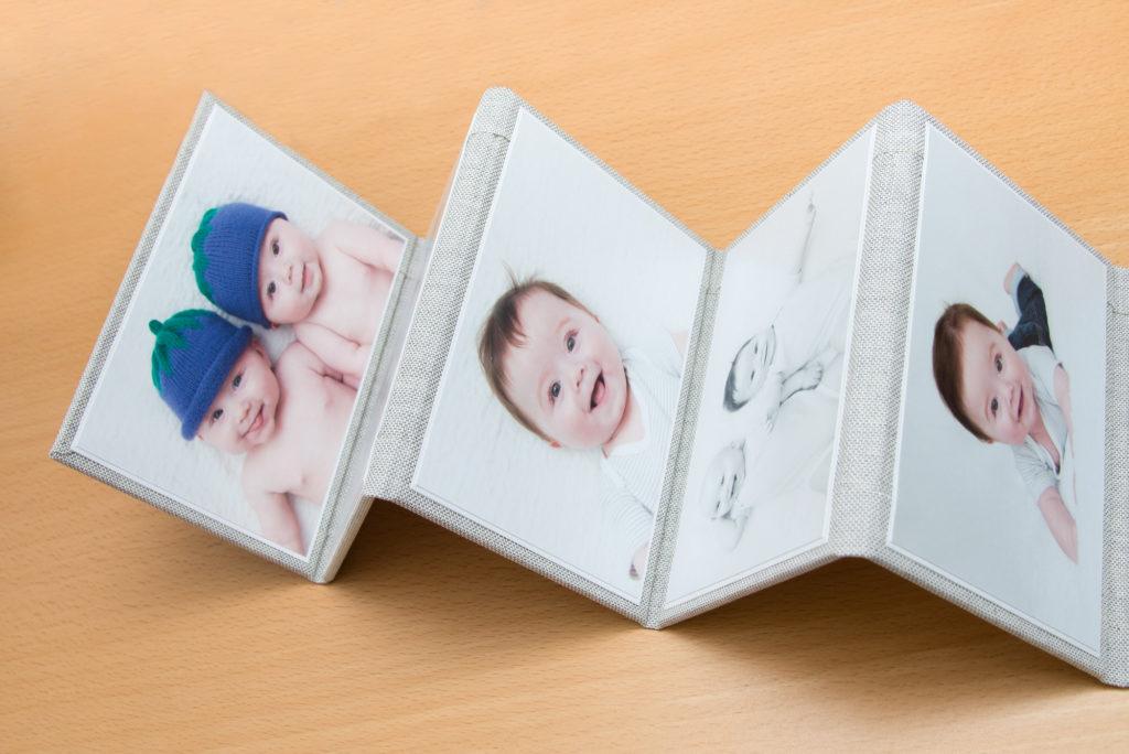 Mini Album inside - great gift for grandparents
