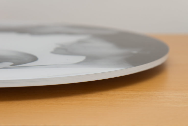 Circular Acrylic close up - a modern way to display your favourite photo
