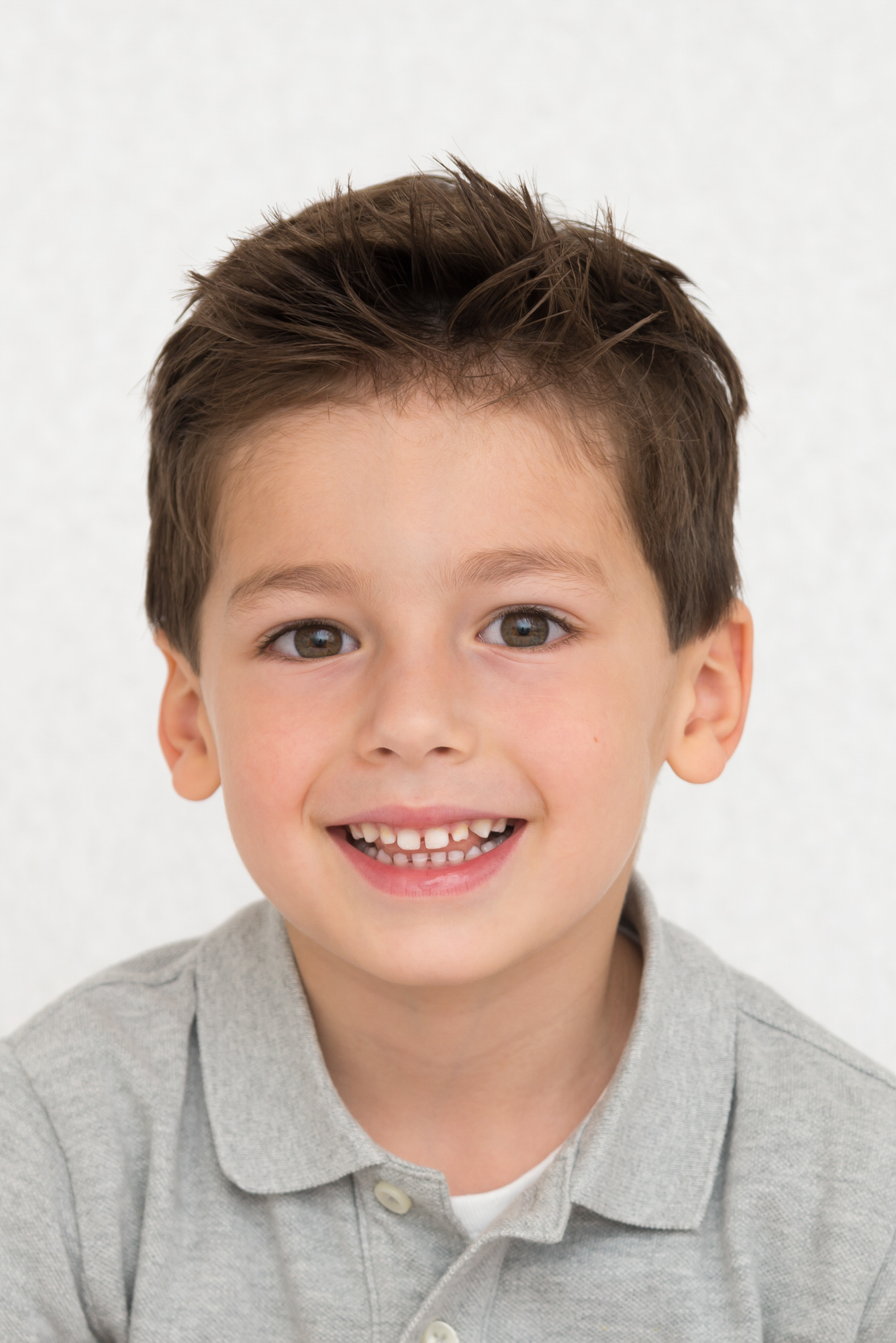 Photo of smiling child in Balham, South London